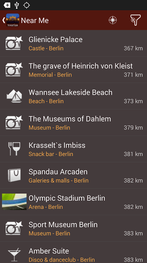 Berlin Travel Guide - Tourias- screenshot