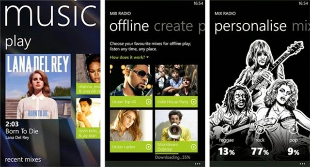 Descargar Música MP3 para Windows Phone