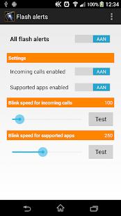 Flash alerts - screenshot thumbnail