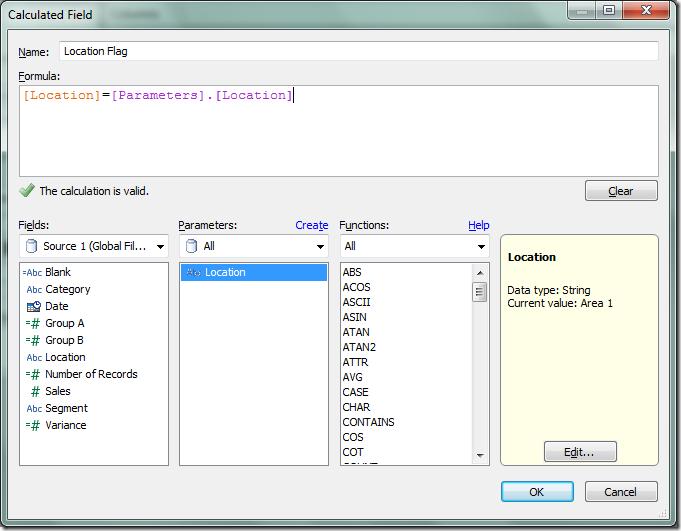 Create a global filter in Tableau across multiple data