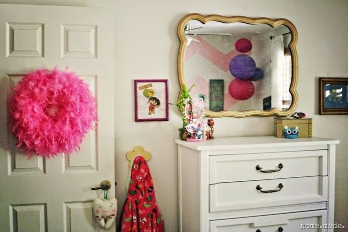 Golden Mirror Makeover