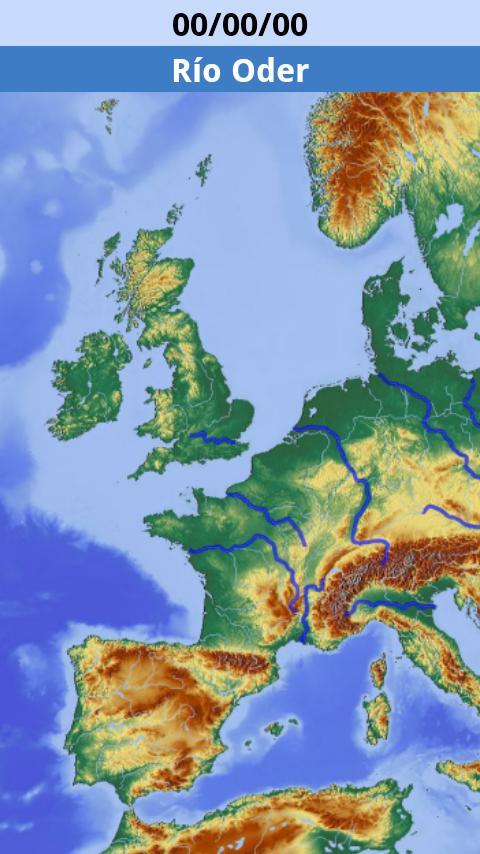 Physical map- screenshot