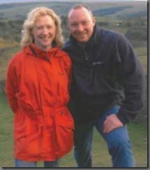 the late Vince Myhan with wife Karen