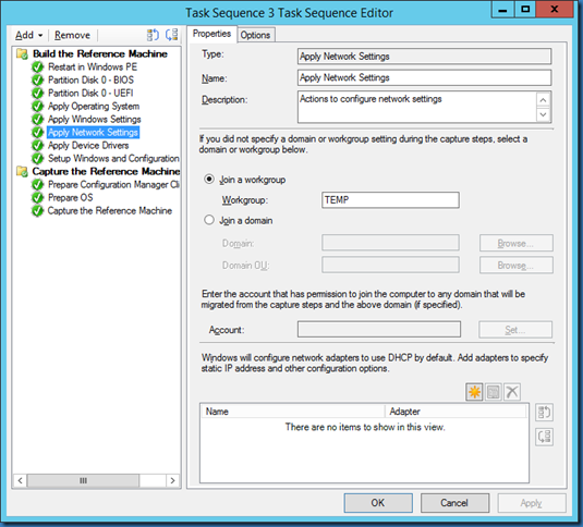 MINDCORE BLOG: Build and Capture Task Sequence fails with error