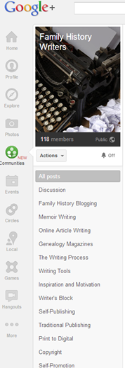 google _communities_familyhistorywriters