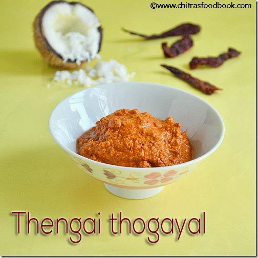 thengai-thogayal