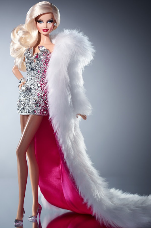 The Blonds Blond Diamond Barbie-Frente