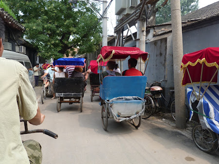 Obiective turistice Beijing: prin hutong