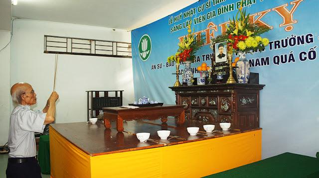 DSC06253 Lễ Hiệp kỵ   Lễ Huý Nhật Cư sĩ Sáng lập viên GĐPT Việt Nam   Tâm Minh Lê Đình Thám