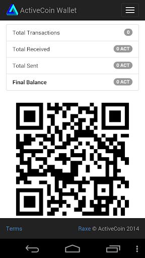 ActiveCoin Wallet