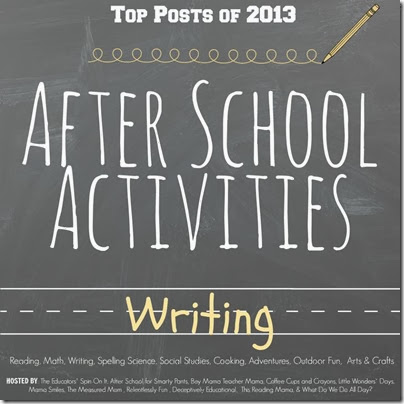 Top Writing Activities for After School in 2013