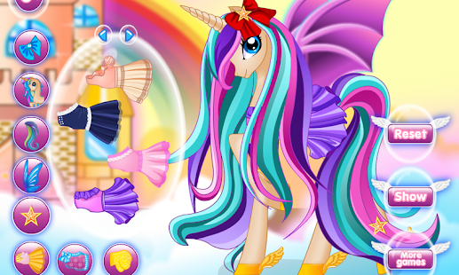 Pony Princess Hair Salon- screenshot thumbnail