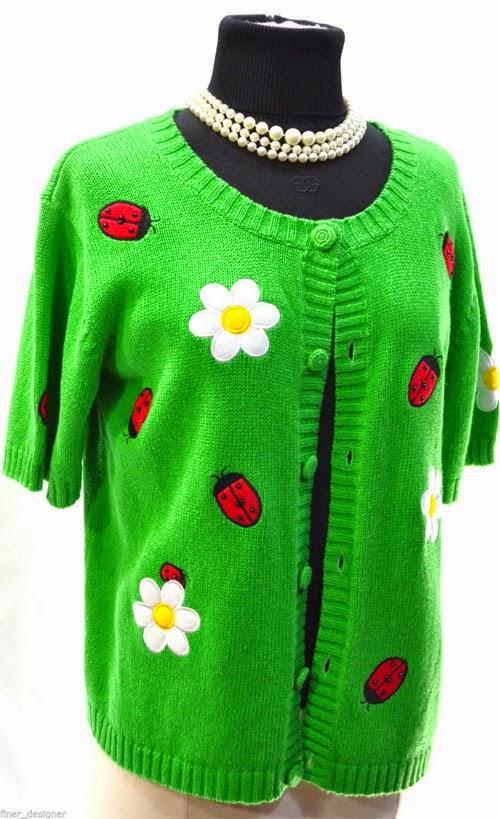 Inspiração: joaninha - tricô