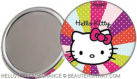 HELLO KITTY EDT perfume LIMITED EDITION MIRROR WOMEN  FRAGRANCE COLORED POP SPRAYS  SINGAPORE SEPHORA ION  ALT BUGIS JUNCTION