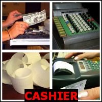 CASHIER- Whats The Word Answers