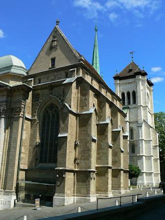 Imagini Elvetia: catedrala Geneva