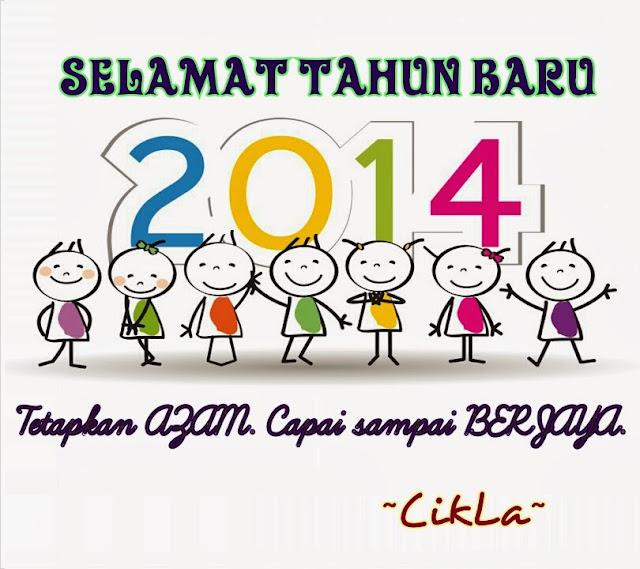 SELAMAT DATANG TAHUN 2014!