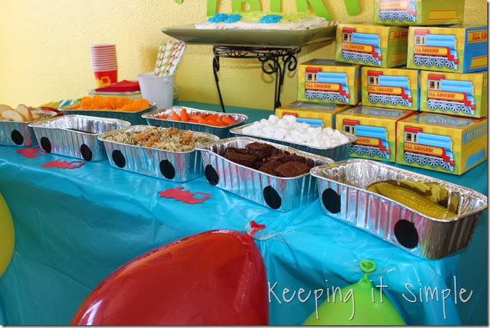 Train Birthday Party Ideas 6