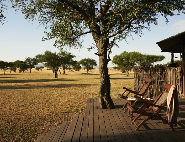Singita Sabora Camp, Grumeti, Serengeti, Tanzania. Agency HKLM. Art Director: Paul Henriques. Stylist/Producer: Janine Fourie. Photographer: Mark Williams. 20/02/12.