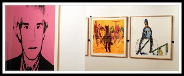ken s photo gallery andy warhol exhibit at bellagio gallery of fine art