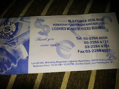 My forex money changer mid valley