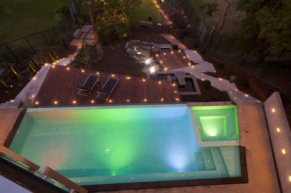 piscina de diseño borde infinito