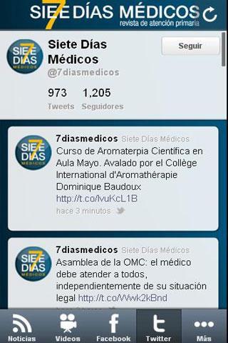7 Días Médicos- screenshot