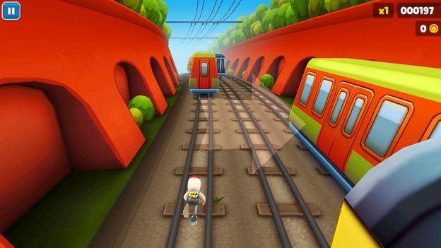 Download subway surfer's game free for windows pc.