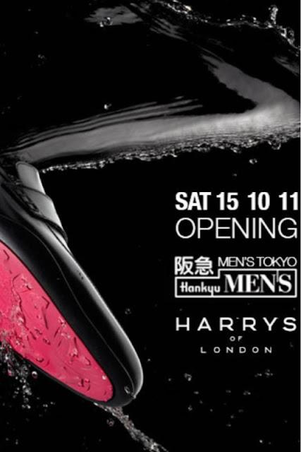 Harrys Of London Dominic Venner Leather Dress Shoe