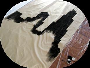 DIY Skyline Curtains