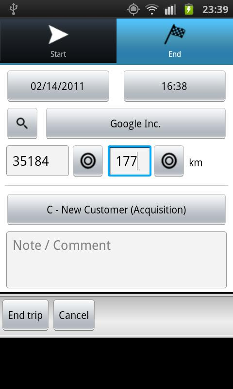 Driver's Log PRO (myLogbook)- screenshot
