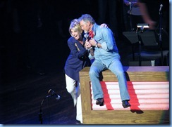 9812 Nashville, Tennessee - Grand Ole Opry radio show - Larry Gatlin and Jeannie Seely