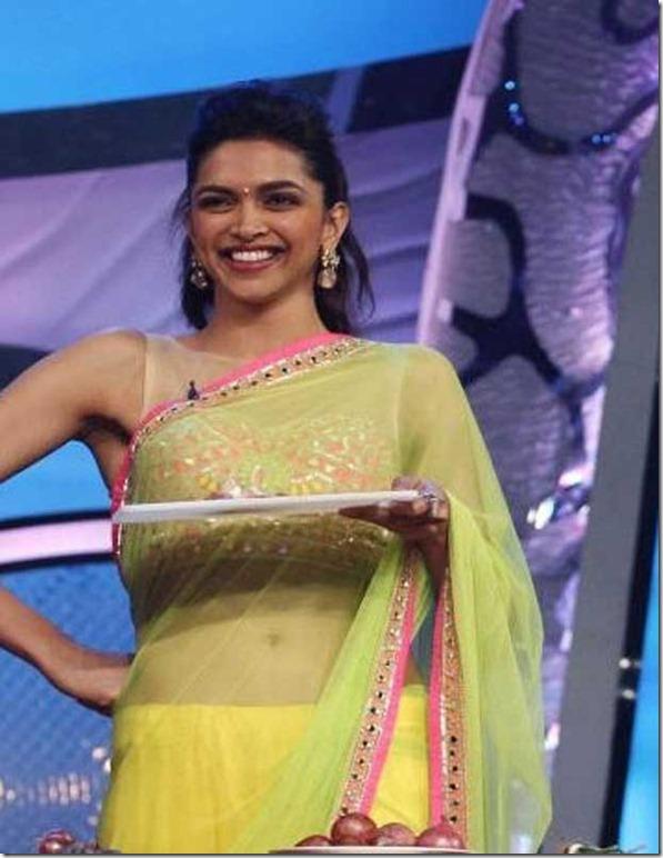 Deepika padukone in chennai express movie promo - Hotty Planet