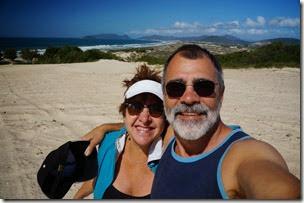 Dunas da praia de Moçambique