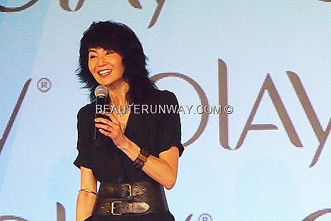 MAGGIE CHEUNG SINGAPORE OLAY REGENERIST  White Radiance, total effects OLAY AMBASSADOR AT CAPELLA HOTEL SENTOSA w