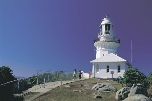 Smoky_Cape_Lighthouse_NSW - Smoky Cape Lighthouse at South West Rocks, Kempsey, North Coast, New South Wales, Australia.