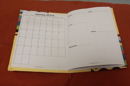 Fabric Covered Monthly Planner Tutorial (8)