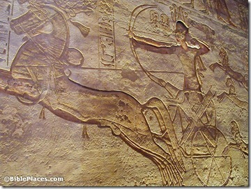 Ramses II on chariot, dg041901630