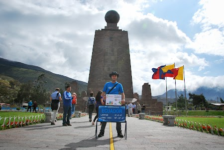 Obiective turistice Ecuador: Monumentul Ecuatorului