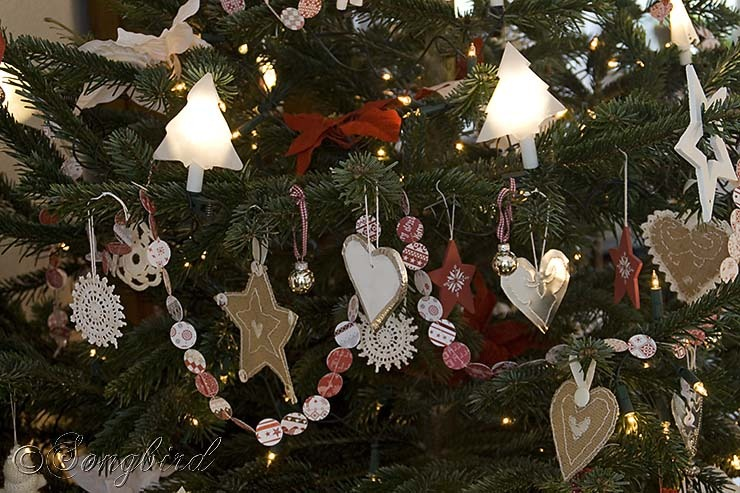 Songbird Christmas Tree Homemade Ornaments 1