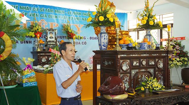 DSC06320 Lễ Hiệp kỵ   Lễ Huý Nhật Cư sĩ Sáng lập viên GĐPT Việt Nam   Tâm Minh Lê Đình Thám