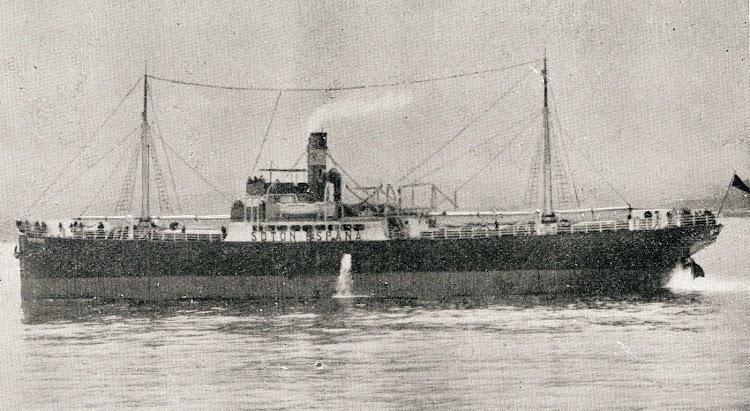 El vapor SOTON en las pruebas de mar. De la revista La Vida Marítima. Edición de 20 de abril de 1919.jpg
