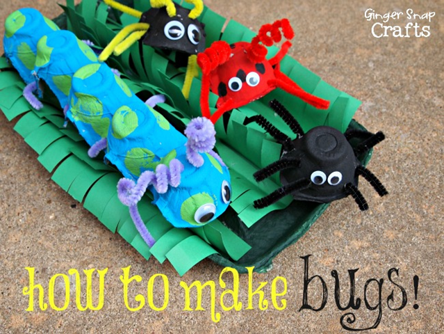 How to make bugs! #kidcraft #summer