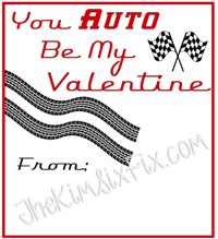 You Auto Be My Valentine