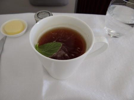 20, Ceai menta pe Qatar Airways.JPG