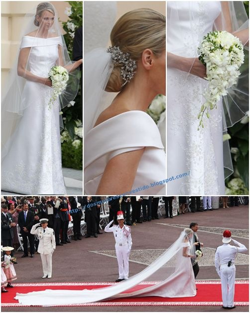 Charlene Wittstock-Monaco Royal Wedding