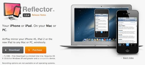 Reflector para Windows y Mac