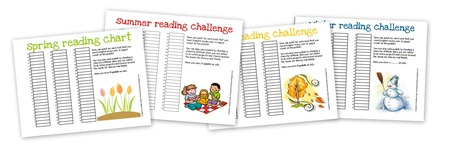 Reading Challenge Collage