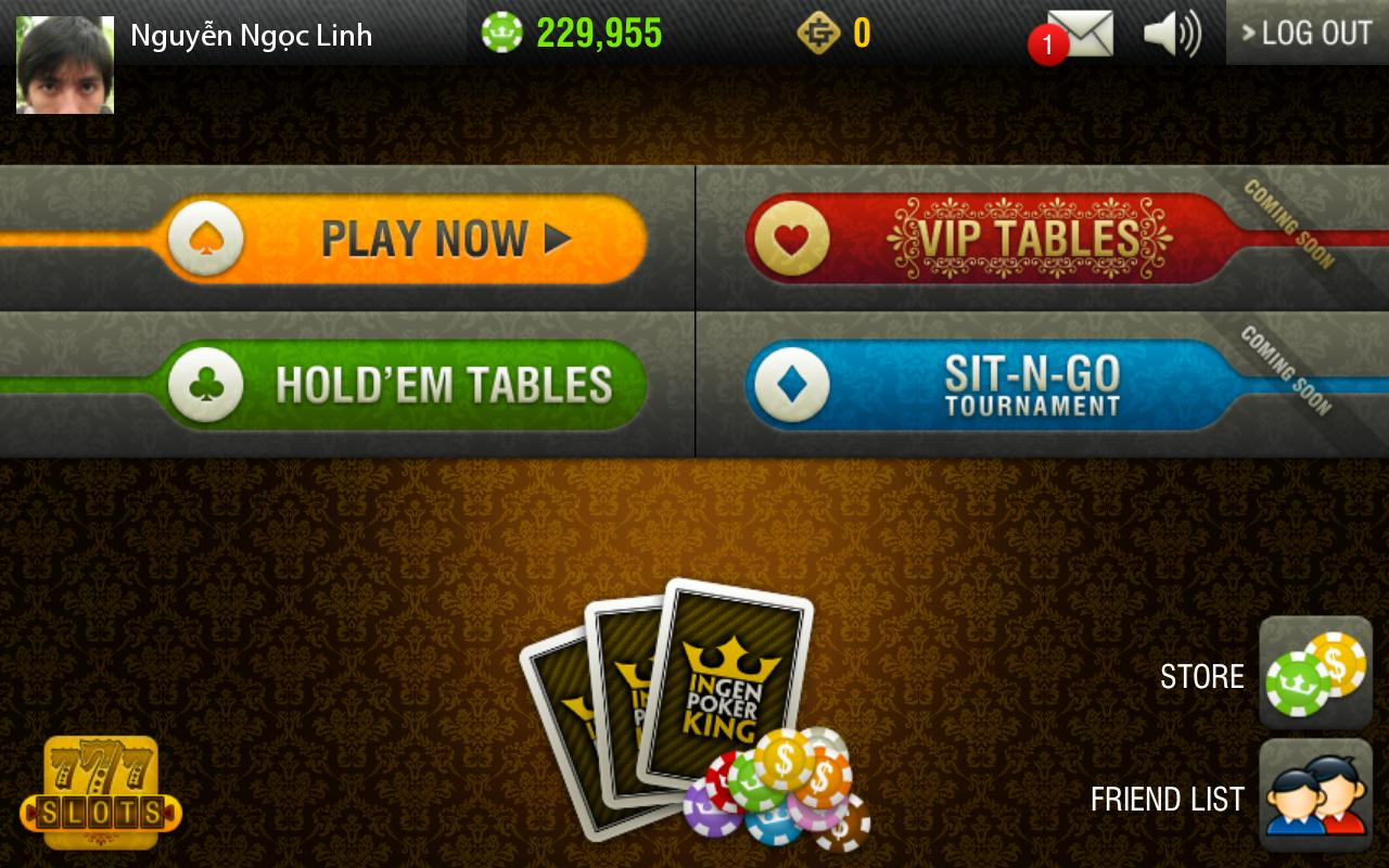 Ingen Poker King - screenshot