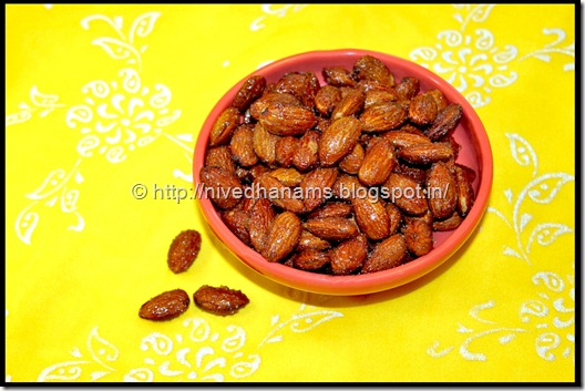 Honey Roasted Almonds - IMG_3984